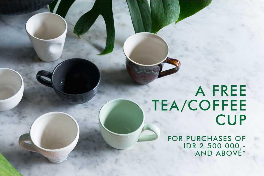 A Free Tea / Coffee Cup