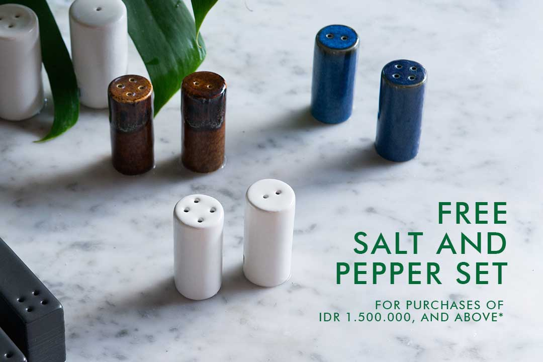 A Free Salt & Pepper Set