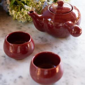 japanese tea cup teapot