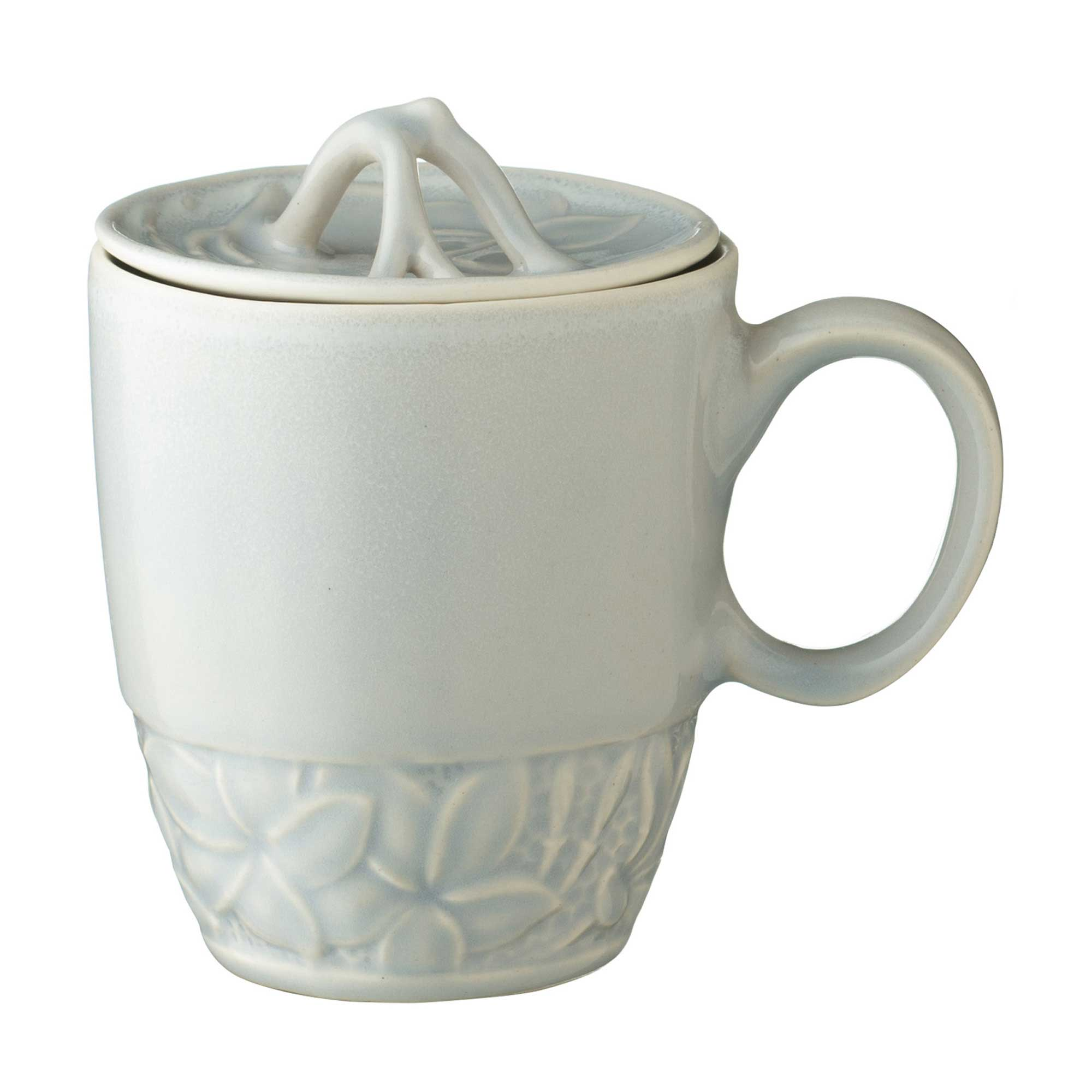 lukas frangipani mug with lid