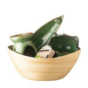 frog collection oil burner soap dish