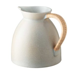 handmade ceramic jenggala artwork ceramic pitcher
