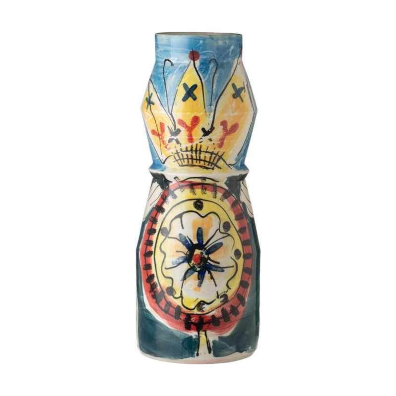 milk drum vase