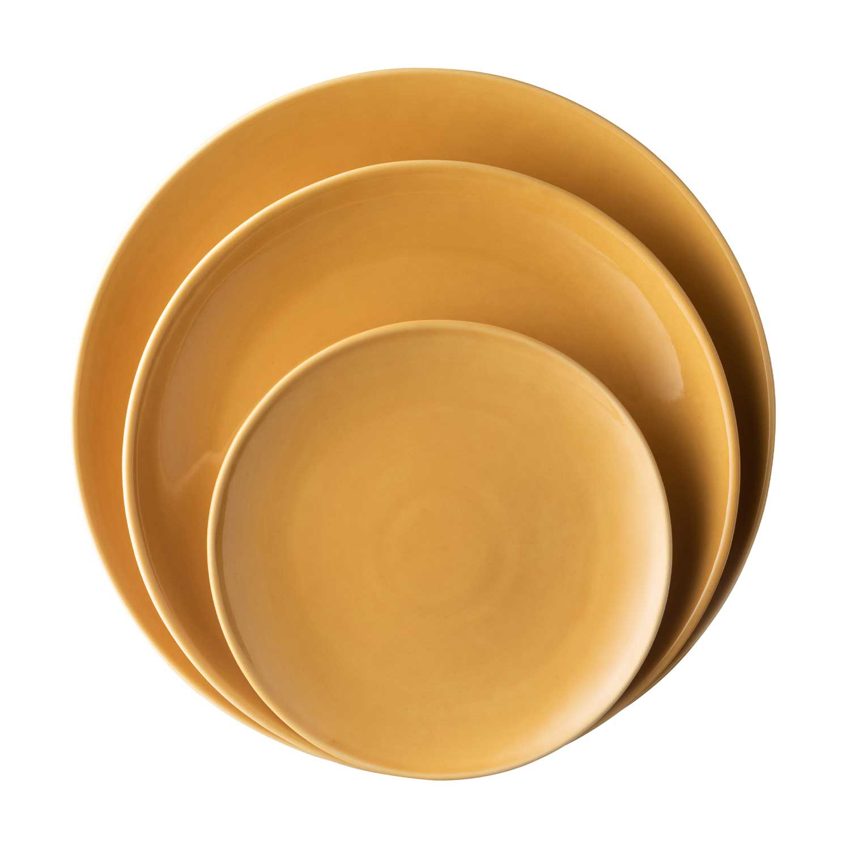 classic round plate set