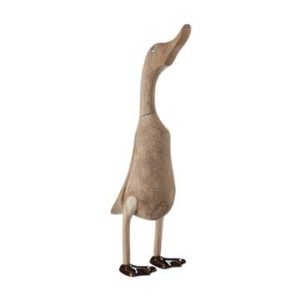 wooden duck