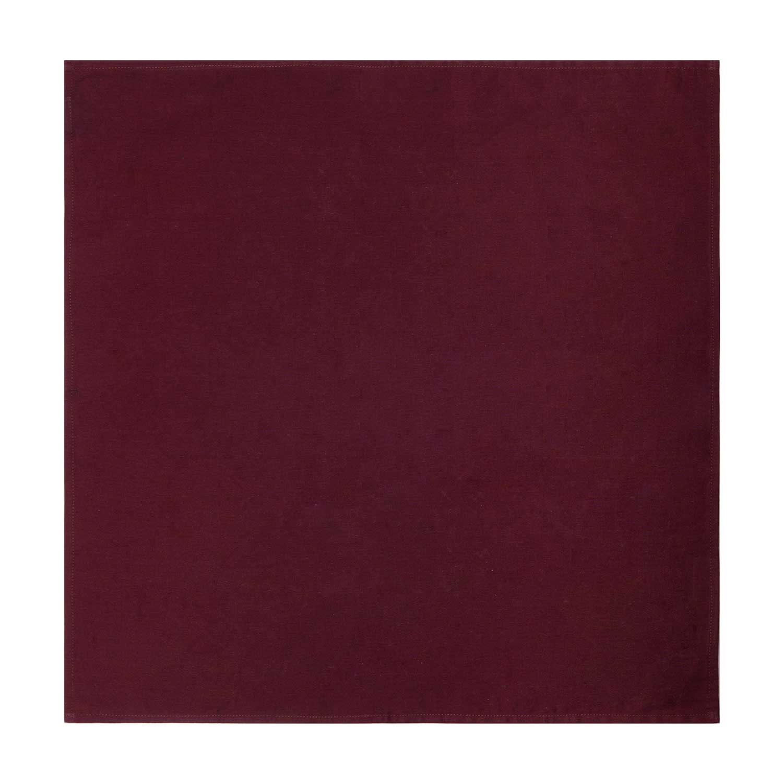 napkin cotton red