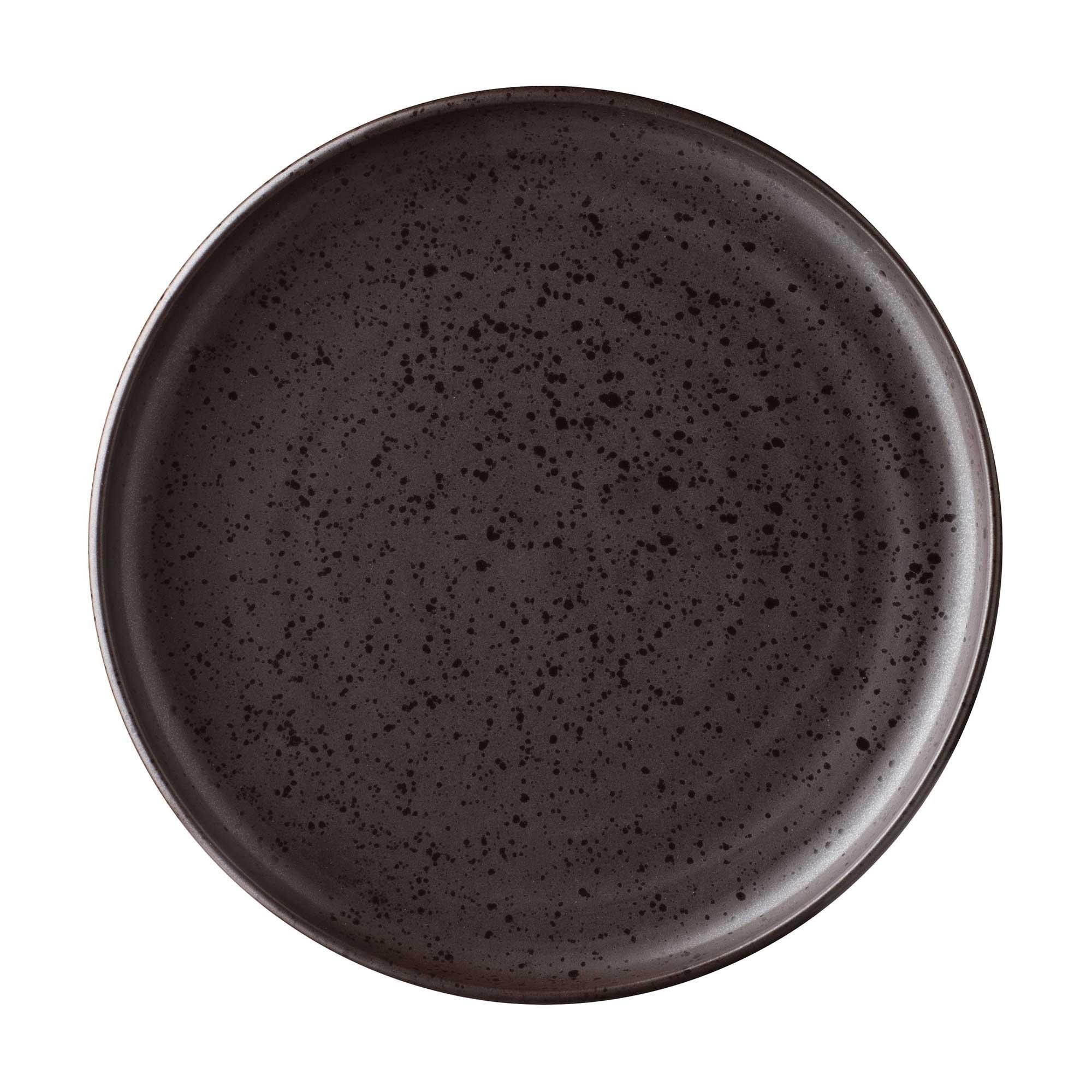 Coco Dessert Plate Terrazzo brown