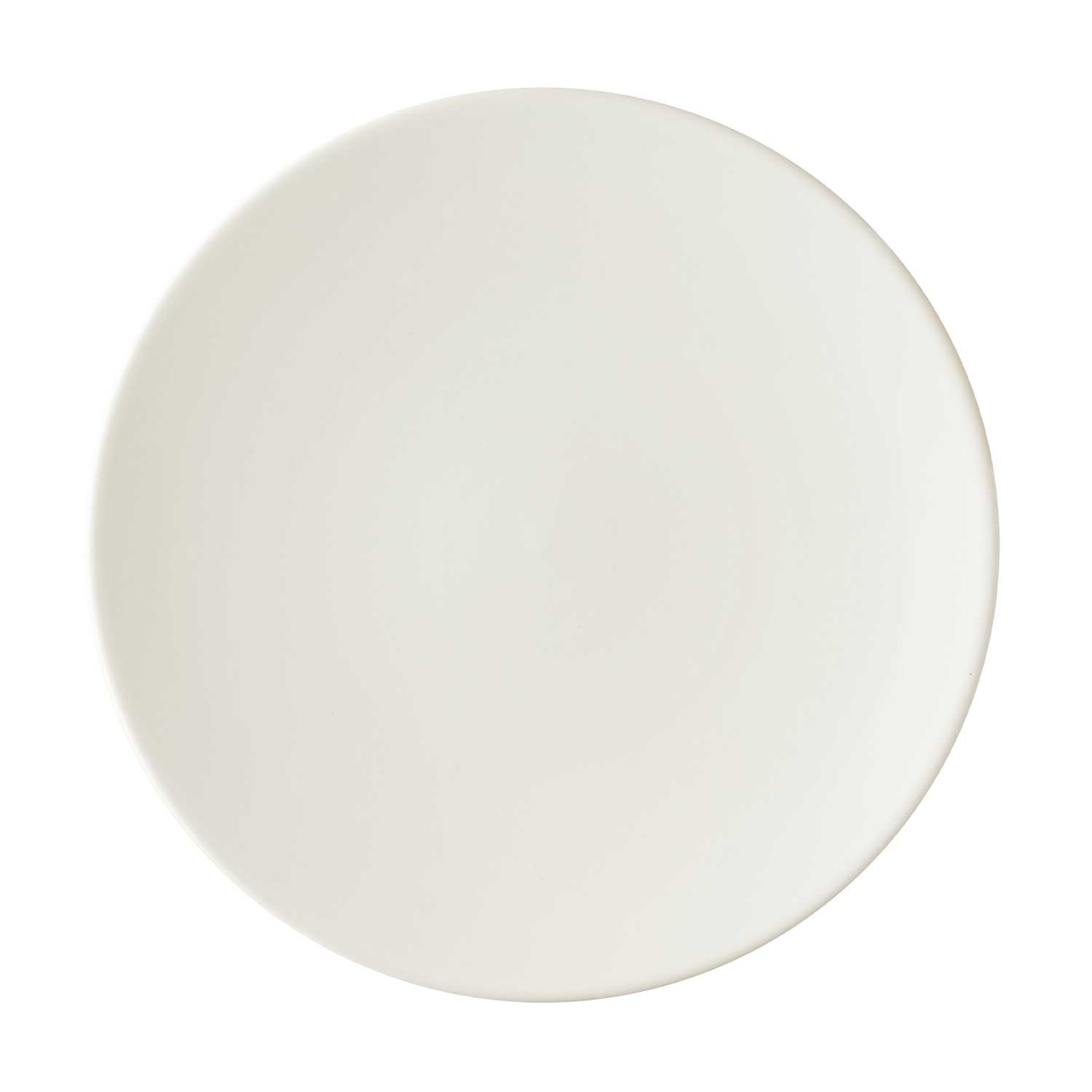 classic curved breakfast plate