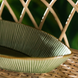 ceramic bowl lines collection pasta bowl salad bowl