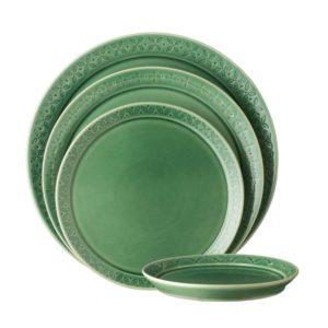 ceramic plate griya collection lebaran hampers