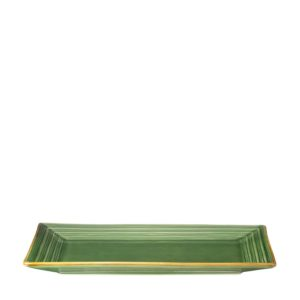 lines collection serving plate