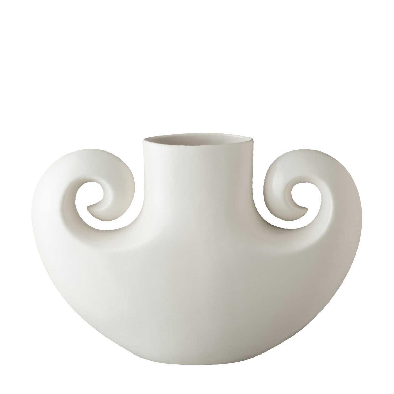 double spiral vase