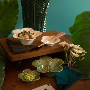 bowl set frangipani collection frangipani set