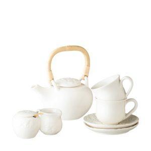 frangipani collection tea set