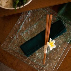 frangipani collection glassware