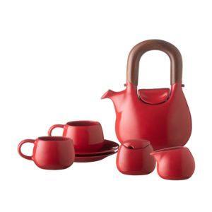 handbag collection tea set