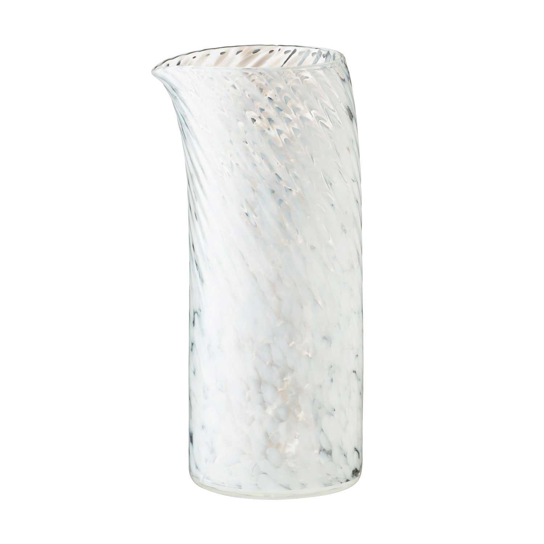 medium glass water jug