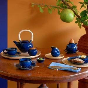 classic round tea set